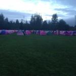 Komen Overnight Tents