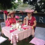 Susan G Komen Walk Tea Party
