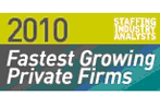 2010 Fastest Growing Firms
