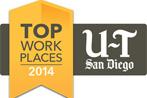 2014 Union-Tribune Top Work Places